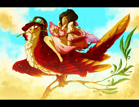 ARK: A Wild Rose For You by Empyrisan
