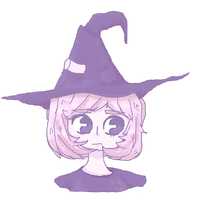 |Computer Mouse Drawing Meme| A Mouse Witch by AmuKinaku