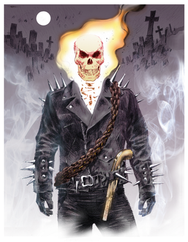 Johnny Blaze by gregmcevoy