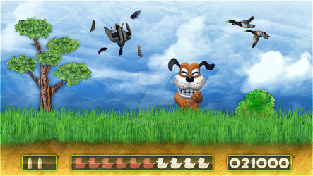 Duck Hunt by Camil1999
