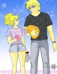 Candy y Albert  paseo by Lorelei2323
