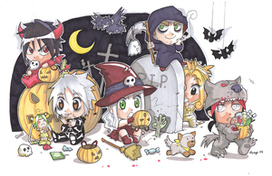 MS halloween xD by meago