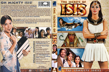 Secrets of Isis DVD Cover by MisterBill82