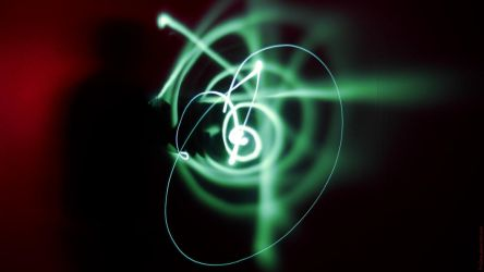 A Photonic Symphony In Green by TheQine