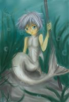 Husky the Merman by Checker-Bee