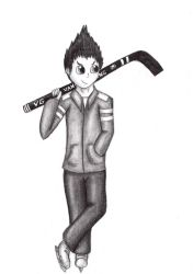 Hockey master Evan by NightmareAdagio