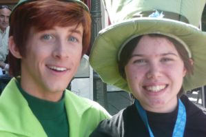 Photo with Peter Pan by SonicHearts