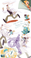 PnF: PerryDoof Chase + Doodles by Fuwa2-Kyara