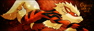 GiZmo Arcanine Signature by Chalkali