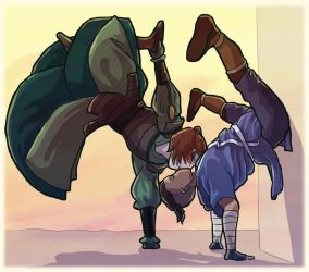 Sokka And Suki by sqbr