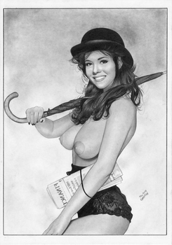 The AVENGERS Emma Peel Tv Series by TimGrayson