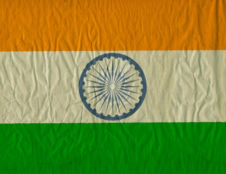 India Flag by hassified