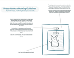 Proper Paper Artwork Mounting Guidelines by footinadream