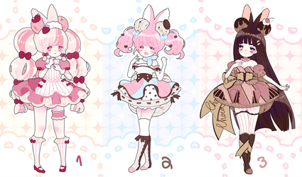 amaidoll adoptables | closed by Hacuubii