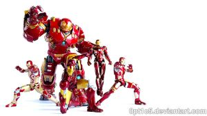 Iron Man Armors 01 by 0PT1C5