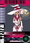 Starlight White Mage Card by ROCuevas
