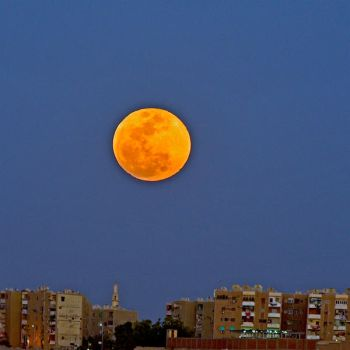 Super blue blood moon by Yousry-Aref
