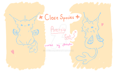 My new species : Aversia cat by AvesAoi