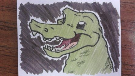 Watch out for da gator by Matoony310