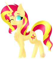 Sunset Shimmer by AppleScribble33