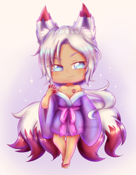 Commission |Cyril chibi by AngelLinx3