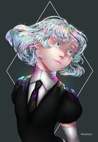 [RB/Fan art] Houseki no Kuni: DIAMOND by Hikarisoul2