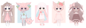 [CLOSED] OTA - soft pastel adopts by ghousu