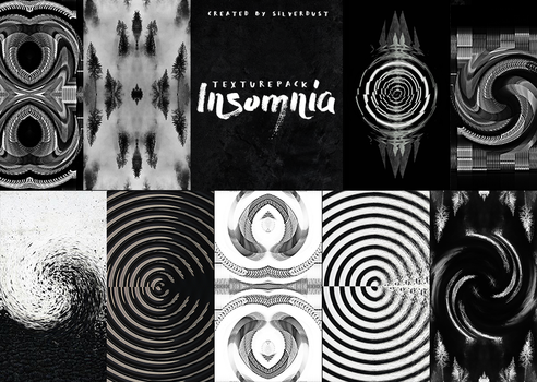 Texture pack - Insomnia|by SilverDust by Marevasart