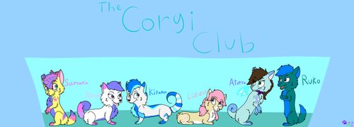 The Corgi Club by minikitty1516