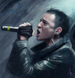 Chester Bennington by trungbui42