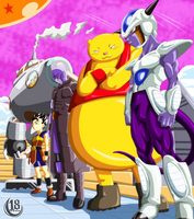 Dragon Ball Super - Warriors universe 6 by 18JTSG