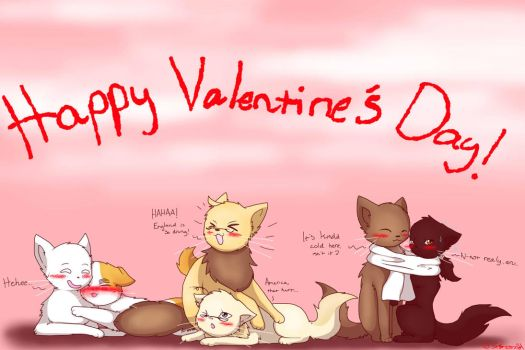 Hetalia: Valentine's Day Part 3 by JazuNeon