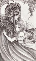 birds of a feather by Sorelliena