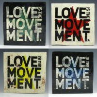 Love is the Movement Plates by Spirit-of-song