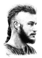 Ragnar Lothbrok by marchesme