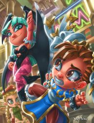 Pocket Fighters (Capcom Fighting Tribute) by LordWilhelm