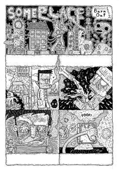 FLUMP VOL.3 PREVIEW - SOME PLACE OR OTHER PT.2 PG1 by FLUMPCOMIX