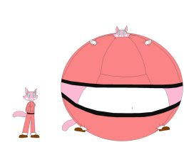 inflated Shima Luan by MedalBambi