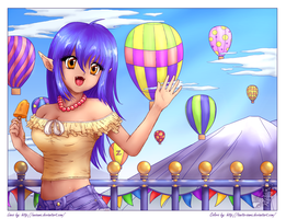Balloon race COLOR CONTEST by Tanita-sama