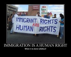 Immigration is a Human right by Balddog4