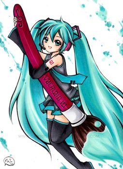 VOCALOID -Color Yourself- by cartoongirl7