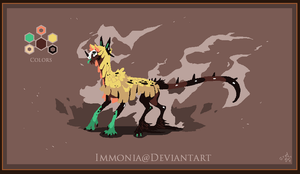 Whisp Dragon  [CLOSED] by Immonia