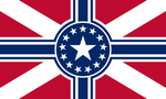 Flag of the American Empire by CyberPhoenix001
