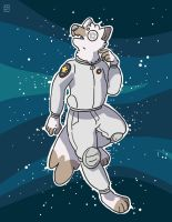 space doggo by ccartstuff