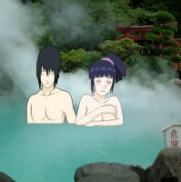 sasuhina onsen by Bleach-Fairy