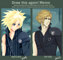 Meme: Before and After by Captain-Toki