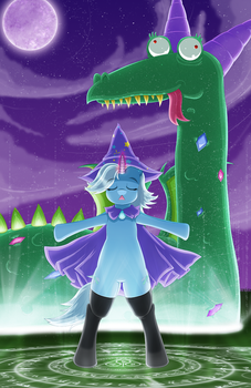 Trixie's Failed Summoning by Damaged927