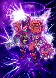 Super Metroid Save Point, colours. by Omegachaino
