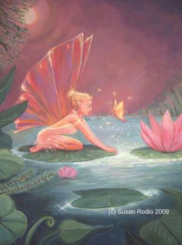 The Lotus Pond Fairy by SusanR