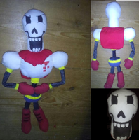 papyrus plush (2.0) by BeauNgamer